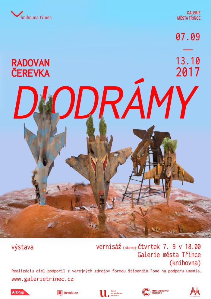Plakát výstava Diodrámy