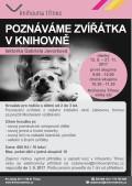 Plakát kurz Poznáváme zvířatka podzim 2017