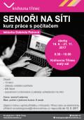 Plakát kurz senioři na síti podzim 2017