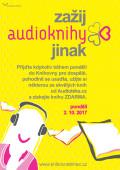 Plakát Zažij audioknihy jinak