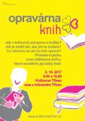 plakát opravárna knih