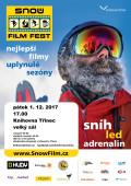 Plakát Snow film fest Třinec 2017