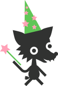 ikona vlček kouzelník