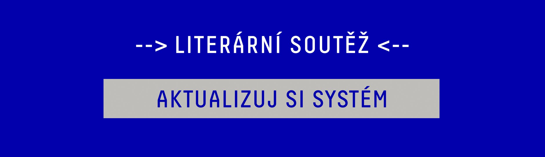 Literární Soutěž Jeden svět Třinec 2018 banner