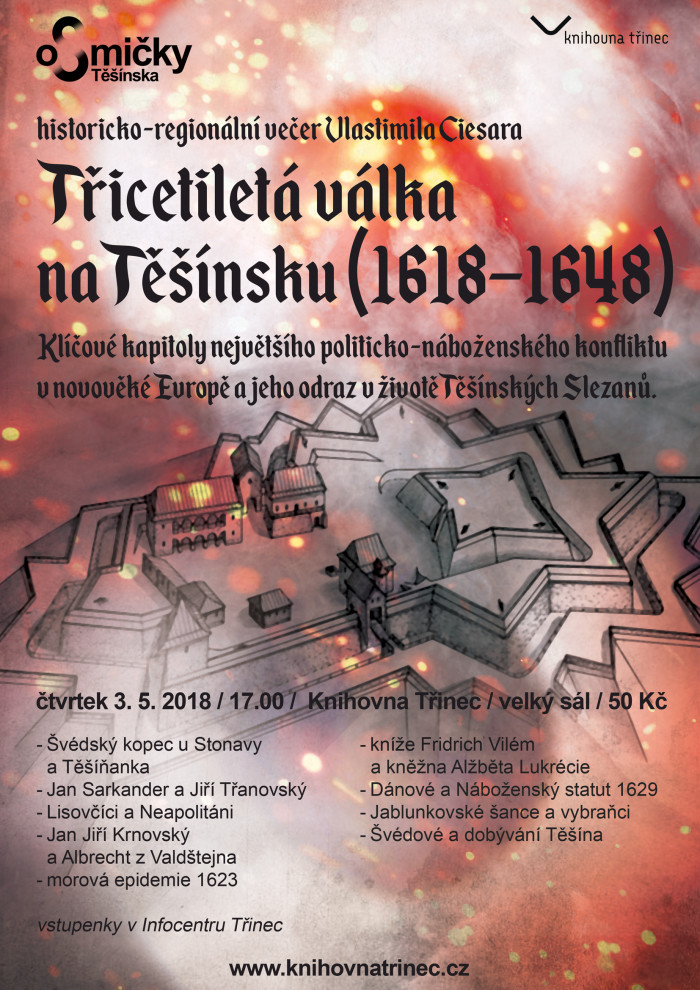 30letá válka na Těšísnku plakát