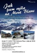 Jak jsme vyšla na Mont Blanc plakát
