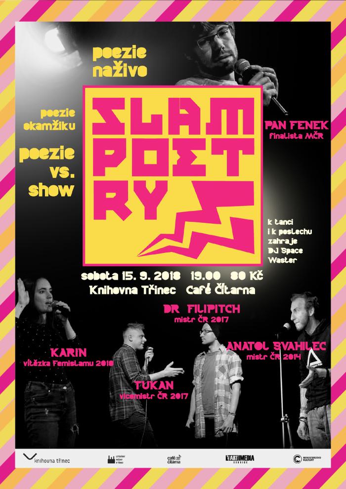 Slam poetry večer 2018