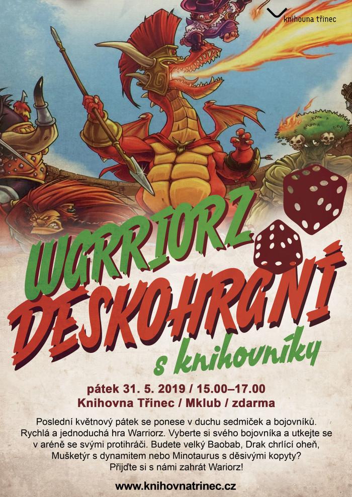 Deskovky warriorz knihovníci 2019 WEB
