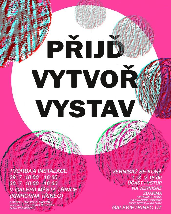 Přijď, vytvoř, vystav plakát WEB