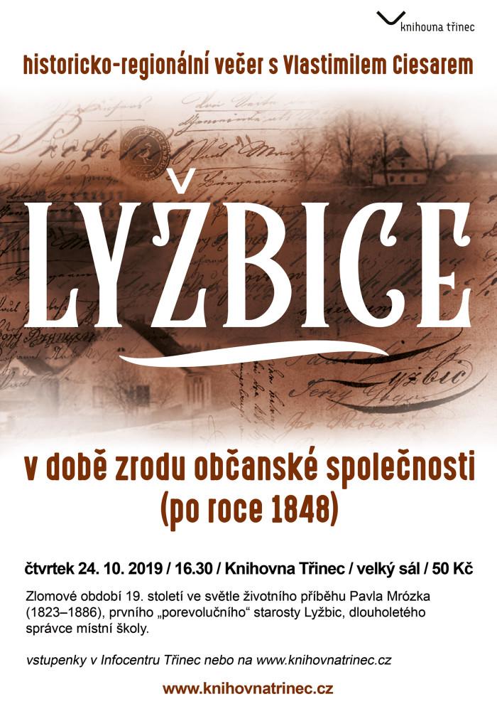 Lyžbice po roce 1848 plakát WEB