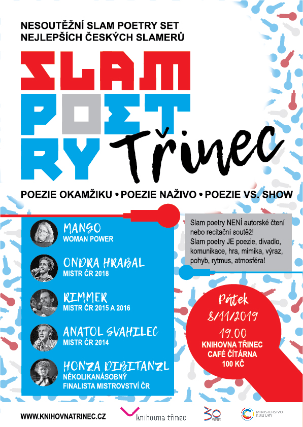 Slam poetry Třinec