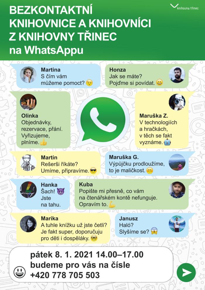 Knihovna WhatsApp WEB